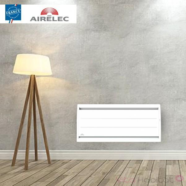 AIRELEC Radiateur electrique Fonte AIRELEC - AIREVO Smart ECOcontrol 750W Bas Blanc - A693442