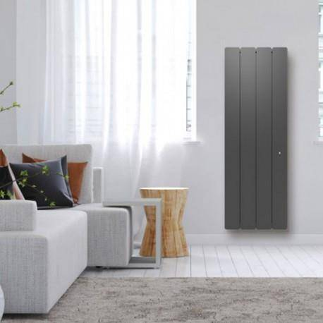 NOIROT Radiateur Fonte NOIROT - BELLAGIO Smart ECOControl 1500W Vertical Gris Anthracite N1695SEHS