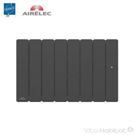 AIRELEC Radiateur Fonte AIRELEC - FONTEA Smart ECOControl 1500W Bas Gris Anthracite - A693565