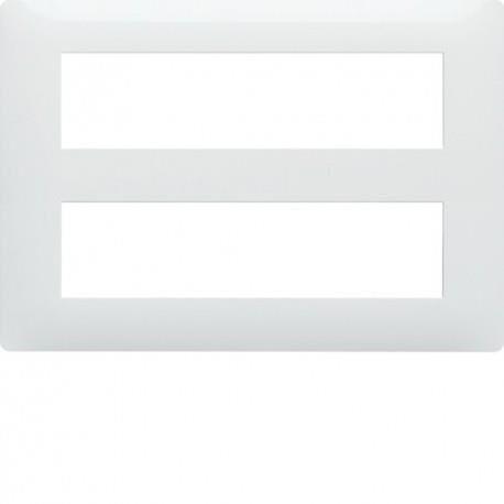HAGER Essensya 16M Plaque Blanc HAGER WE416