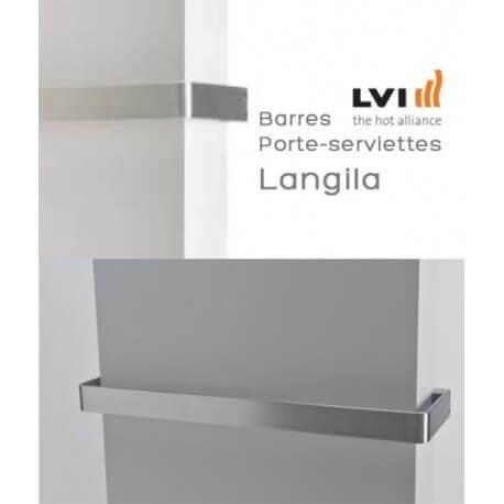 LVI Porte-serviettes LVI pour radiateur LANGILA Longueur 475mm