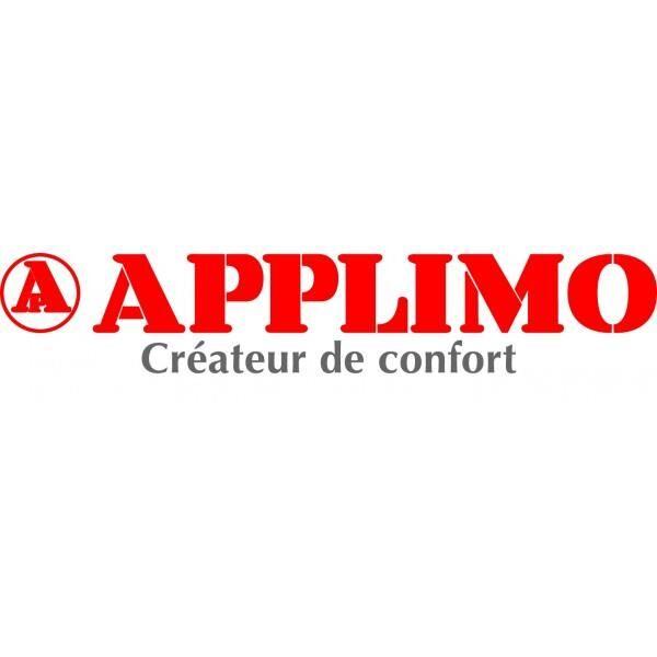 """APPLIMO Jeu de 2 pieds de soutien """"cloison fragile"""" APPLIMO pour radiateur Anthracite - 0052051HS"""