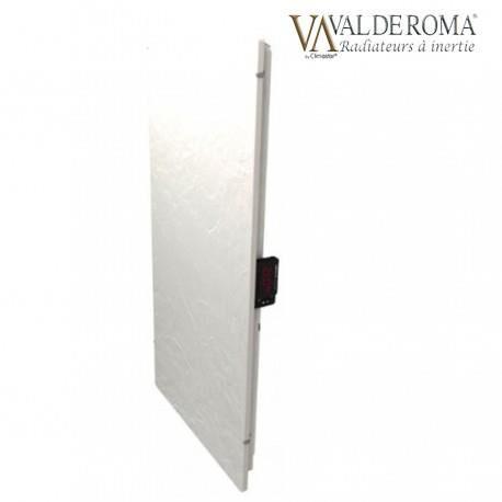 VALDEROMA Radiateur à inertie TACTILO Vertical Ardoise Blanche 1300W - Valderoma AB13VEA