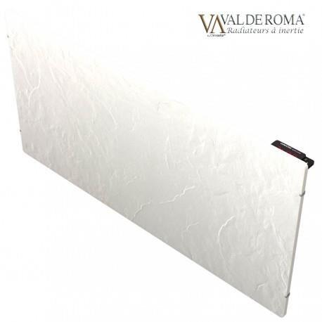 VALDEROMA Radiateur à inertie TACTILO Horizontal Ardoise Blanche 1500W - Valderoma AB1500A
