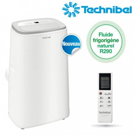 TECHNIBEL Climatiseur mobile monobloc IRO 3.5kW REVERSIBLE - Technibel IRO13PLUS