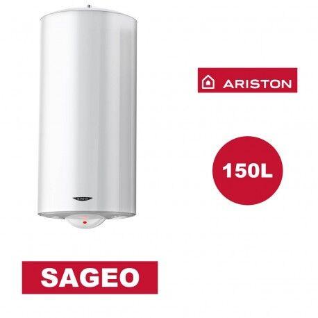 ARISTON Chauffe-eau électrique vertical mural Sagéo 150 l - Ø 530 mm - ARISTON 3000353