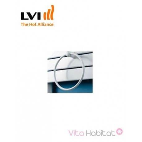 LVI Porte-serviette anneau pour MAROA, INYO, APANEO et SILAY - Blanc - LVI - 3900145
