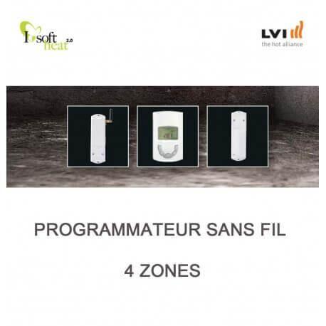 LVI Programmateur sans fil 4 ZONES - LVI - 4505604