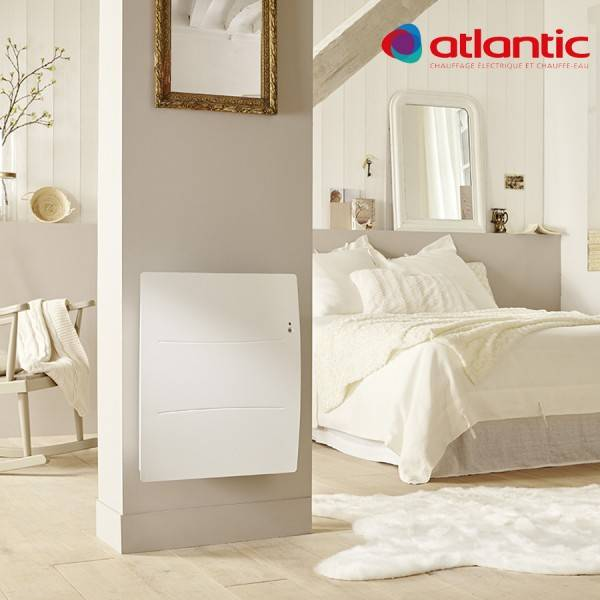 ATLANTIC Radiateur électrique Atlantic AGILIA Horizontal 500W Pilotage Intelligent Connecté - 503105