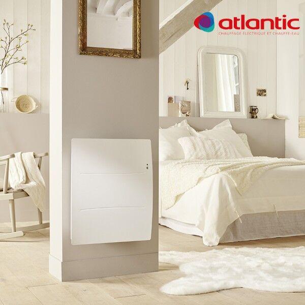 ATLANTIC Radiateur électrique Atlantic AGILIA Horizontal 1250W Pilotage Intelligent Connecté - 503112