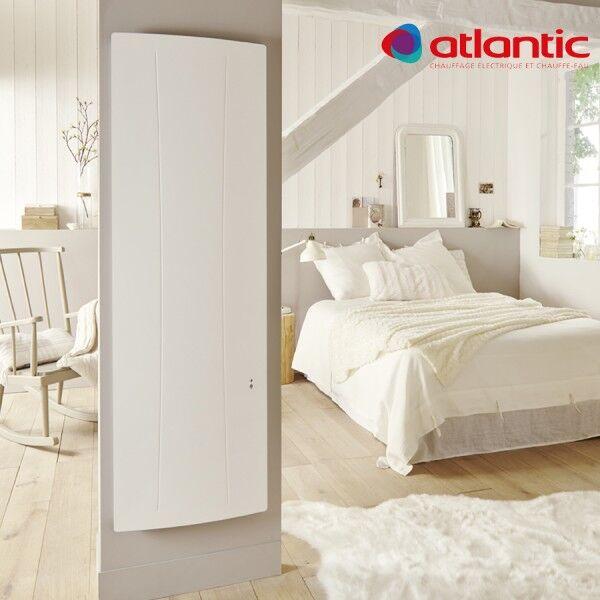 ATLANTIC Radiateur électrique Atlantic AGILIA Vertical 1500W Pilotage Intelligent Connecté - 518215