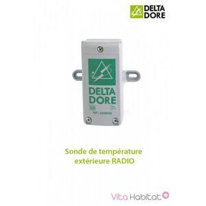 DELTA DORE Sonde de température extérieure RADIO - DeltaDore 6300036 - Publicité