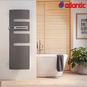 ATLANTIC Sèche-serviettes électrique ATLANTIC 500W Mât à gauche SERENIS - Publicité