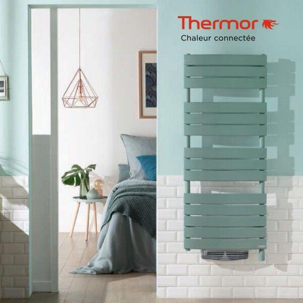 THERMOR Sèche-serviettes soufflant THERMOR RIVIERA 1750W (750W+1000W)