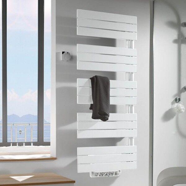 FINIMETAL Sèche-serviettes électrique standard ARBORESCENCE 750W collecteurs à gauche - FINIMETAL ARG1560EG