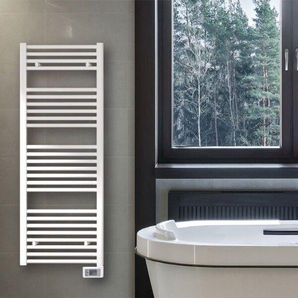 APPLIMO Sèche-serviettes électrique fluide NAPO 2 Blanc 750W - APPLIMO 0014272TRDR