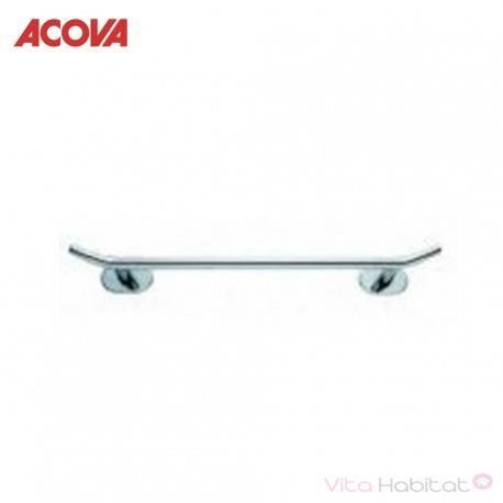 ACOVA Porte-serviettes barre 2 points 43 cm - CHROMÉ - pour ACOVA Cala et Atoll Spa - 471018