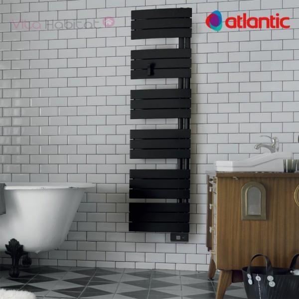 ATLANTIC Sèche-serviettes électrique Atlantic NEFERTITI Etroit Digital - 750W - 850508