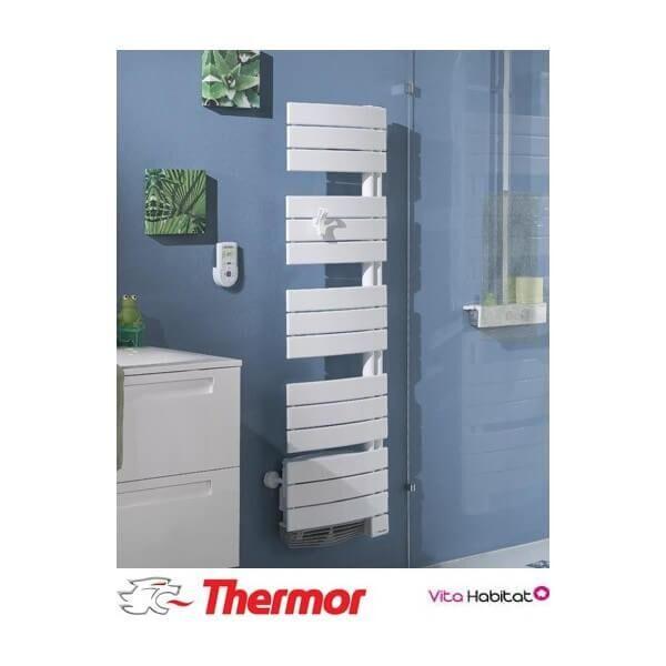 THERMOR Sèche-serviettes soufflant THERMOR ALLURE 2 Etroit Digital - 1750W (750W+1000W) - 490761