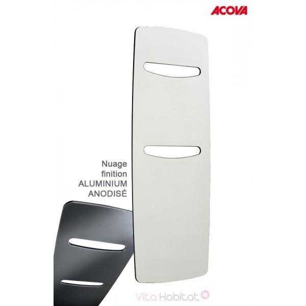 ACOVA Sèche-serviette ACOVA - NUAGE électrique Aluminium Anodisé 750W TGNA-180-070/GF