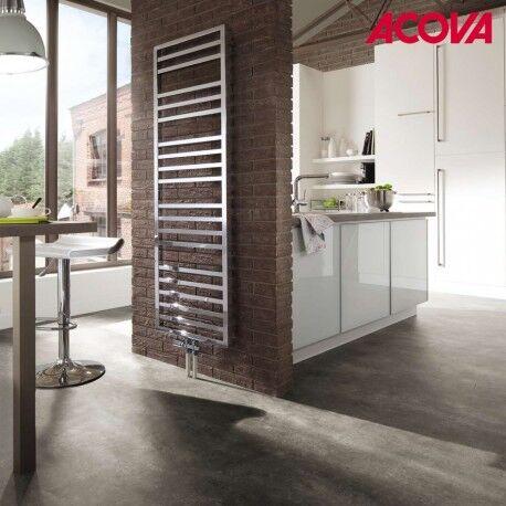 ACOVA Sèche-serviette ACOVA - KADRANE SPA Mixte INOX 464W / 300W - AKARI-150-055/GF