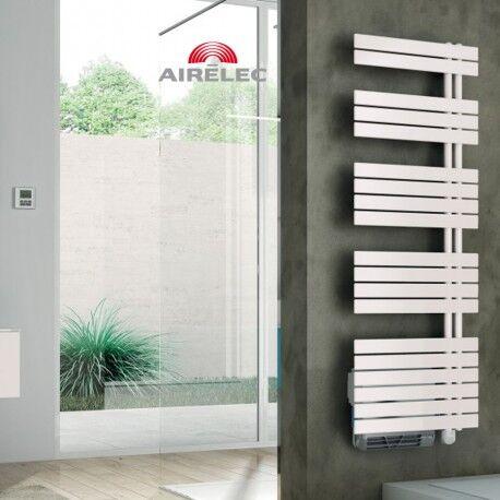 AIRELEC Seche-serviettes AIRELEC Asymétrique à droite OSYA électrique 1750W (750W + 1000W) - A694142