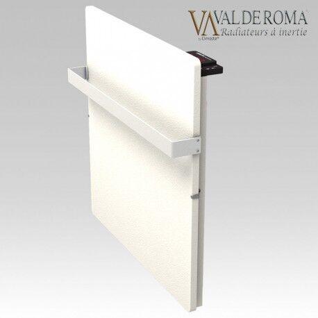 VALDEROMA Sèche-serviettes à inertie TACTILO Carré Blanc Cachemire 800W - Valderoma BC08BSA