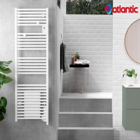 ATLANTIC Sèche-serviettes électrique ATLANTIC 1750W (750W+1000W) DORIS DIGITAL soufflant