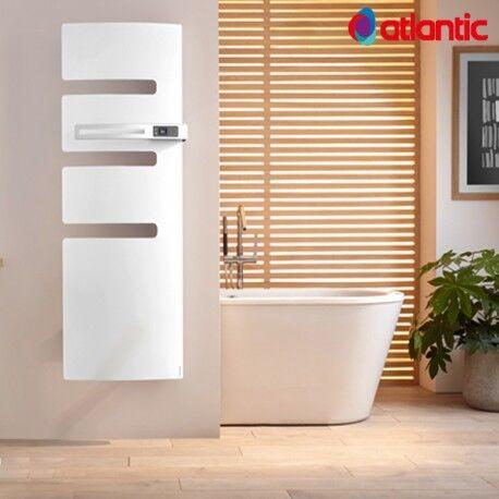 ATLANTIC Sèche-serviettes électrique ATLANTIC 750W Mât à droite SERENIS