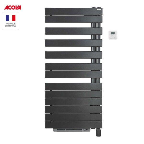 ACOVA Sèche-serviette Soufflant ACOVA - REGATE Twist + Air électrique pivot à droite 1750W (750W+1000W) TXCR075-055IFS