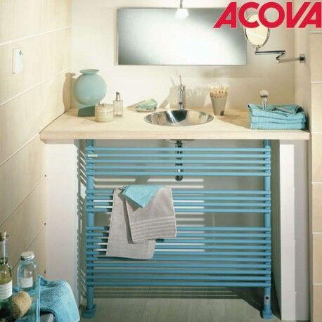 ACOVA Sèche-serviette horizontal ACOVA KEVA Spa chauffage central 778W - SK-076-100