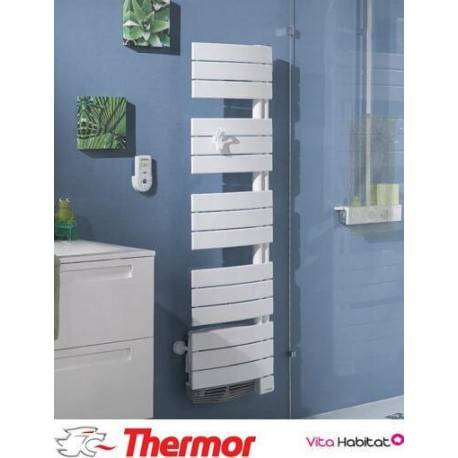 THERMOR Sèche-serviettes soufflant THERMOR ALLURE 2 Etroit Digital - 1500W (500W+1000W) - 490751