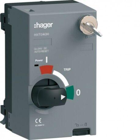 HAGER Mot.P250 200-220VAC/DCssAR+clé - APPAREILLAGE DE TETE HAGER HXT047HK