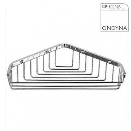 CRISTINA ONDYNA Porte savon GRAND HOTEL panier d'angle Chrome - CRISTINA ONDYNA - GH15751