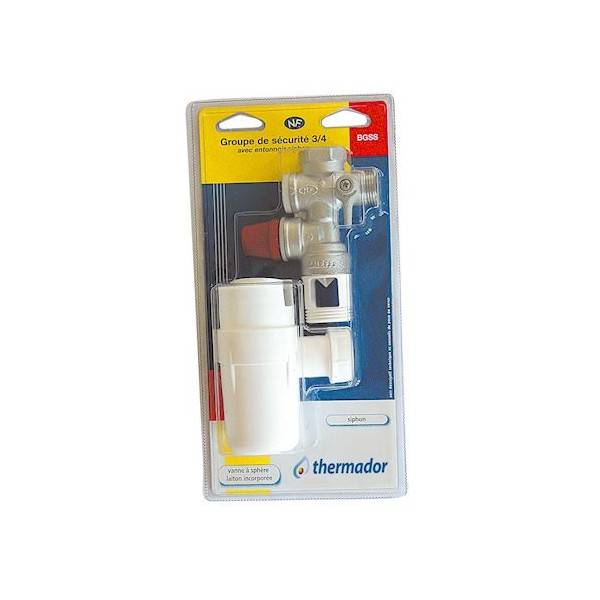 THERMADOR KIT GROUPE DE SECURITE 3/4 + SIPHON - THERMADOR BGSS