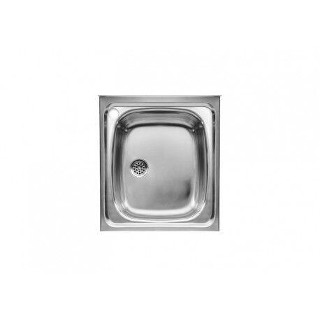 ROCA E-45 Evier Inox 1 Bac 45X50Cm - A870410453