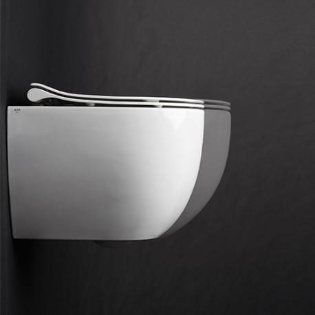 CRISTINA ONDYNA BLOC WC MINI CIOTOLA SUSPENDU AVEC ABATTANT SOFT CLOSE NO RIM - CRISTINA ONDYNA WCI3291
