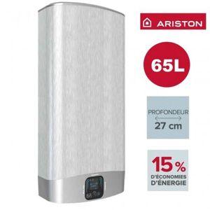 ARISTON Chauffe-eau ARISTON Velis EVO PLUS GRIS 65L - vertical/horizontal electrique 3626156 - Publicité
