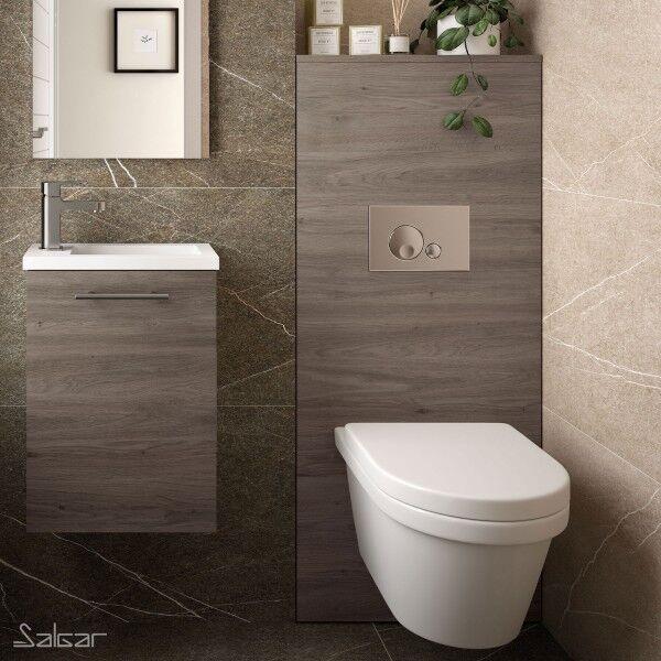 SALGAR Habillage Bati-Support pour WC suspendu Chêne Eternity NOJA - SALGAR 87801