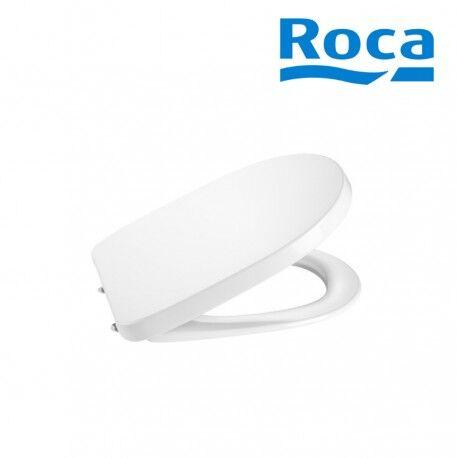 ROCA Abattant WC double laqué Supralit Blanc MERIDIAN - ROCA A8012A000B