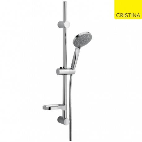 CRISTINA ONDYNA Barre de douche RALLY D.25 mm CHROME - CRISTINA ONDYNA RA25351