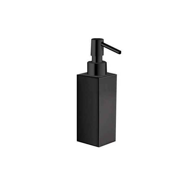 CRISTINA ONDYNA Distributeur Savon Liquide Quattro A Poser Chrome Noir - CRISTINA ONDYNA QU72772