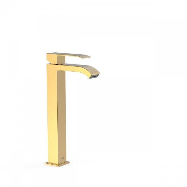 TRES Mitigeur lavabo avec bec cascade OR - TRES 00681001OR