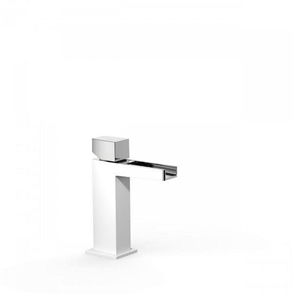 TRES Mitigeur lavabo robinet cascade bec ouvert. REMARQUE: la robinetterie à bec casc - TRES 20211002BL