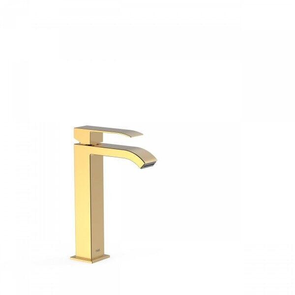 TRES Mitigeur lavabo avec bec cascade. REMARQUE: la robinetterie à bec cascade est fo - TRES 00661001OR