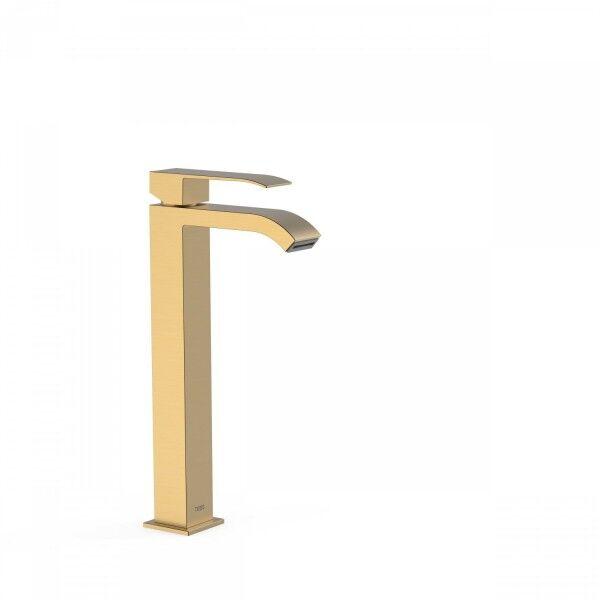 TRES Mitigeur lavabo avec bec cascade. REMARQUE: la robinetterie à bec cascade est fo - TRES 00681001OM