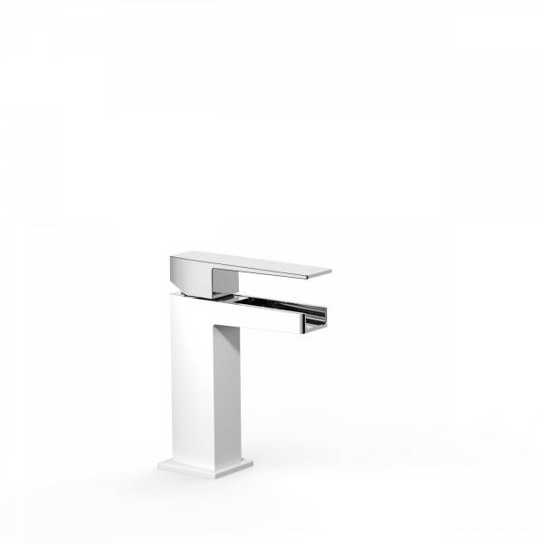 TRES Mitigeur lavabo robinet cascade bec ouvert. REMARQUE: la robinetterie à bec casc - TRES 20211001BL
