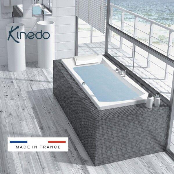 KINEDO Baignoire balnéo Concerto 180x80 cm tête à droite MIX COLOR - KINEDO BCON180BDMCO1