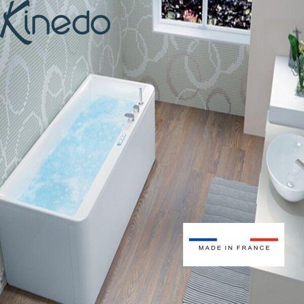 KINEDO Baignoire balnéo SAMBA MAT 170x70 cm tête à gauche MIX COLOR - KINEDO BSLI170MGMCO1