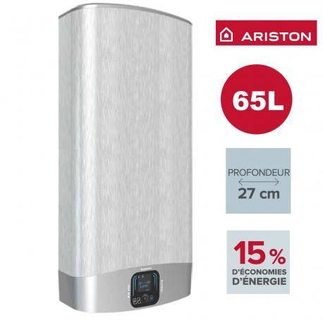 ARISTON Chauffe-eau ARISTON Velis EVO PLUS GRIS 65L - vertical/horizontal electrique 3626156